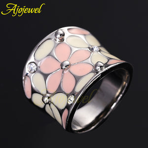 High Quality Elegant Pink Jewelry Sweet Style