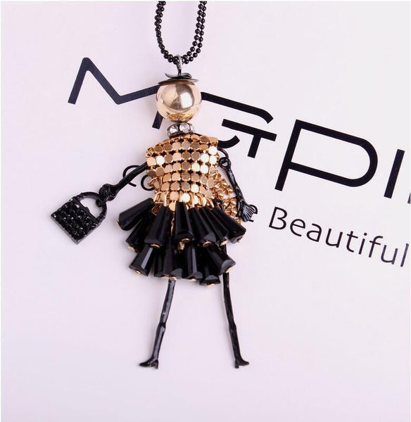 Doll Pendant For Long Necklace