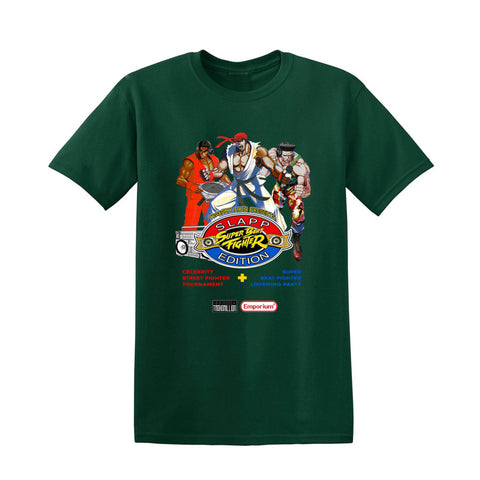 Green Super Beat Fighter Slapp Edition T-Shirt