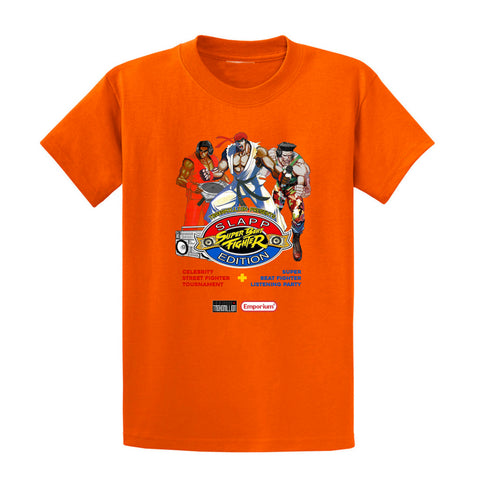 Orange Super Beat Fighter Slapp Edition T-Shirt