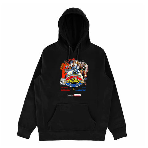 Black Super Beat Fighter Slapp Edition Hoodie