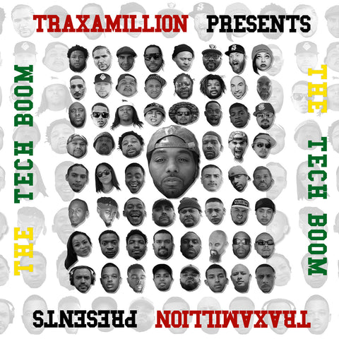 Traxamillion Signed Tech Boom (CD)