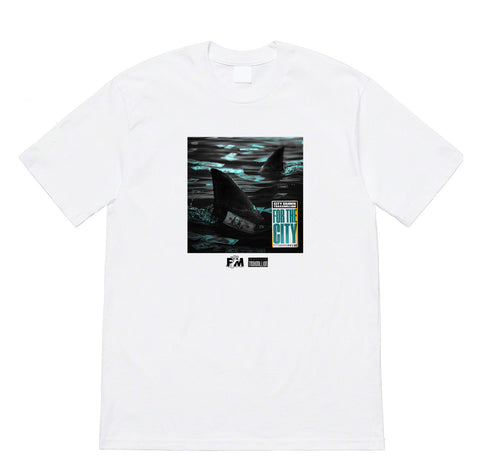 For The City - White T-Shirt