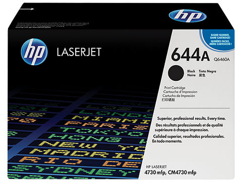 HP 644A Black Original LaserJet Toner Cartridge