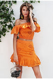 Sweet Persimmon dress