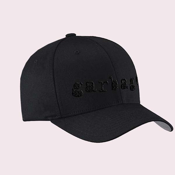GARBAGE EMBROIDERED FLEXFIT HAT