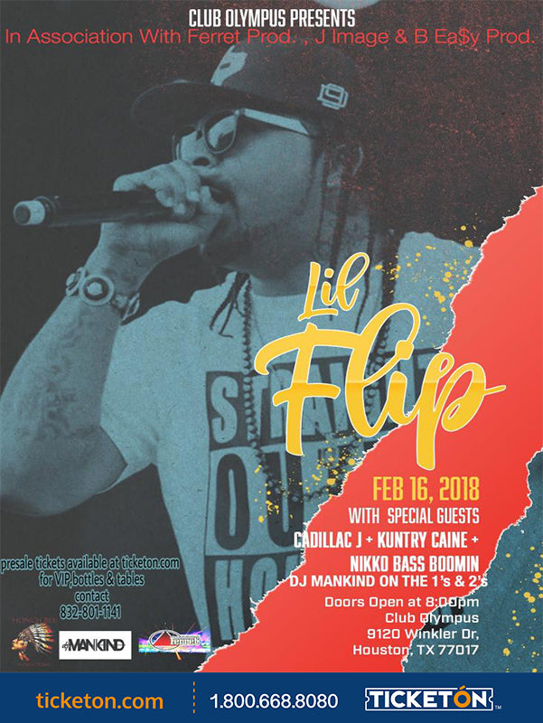 Lil' flip Live At Club Olympus