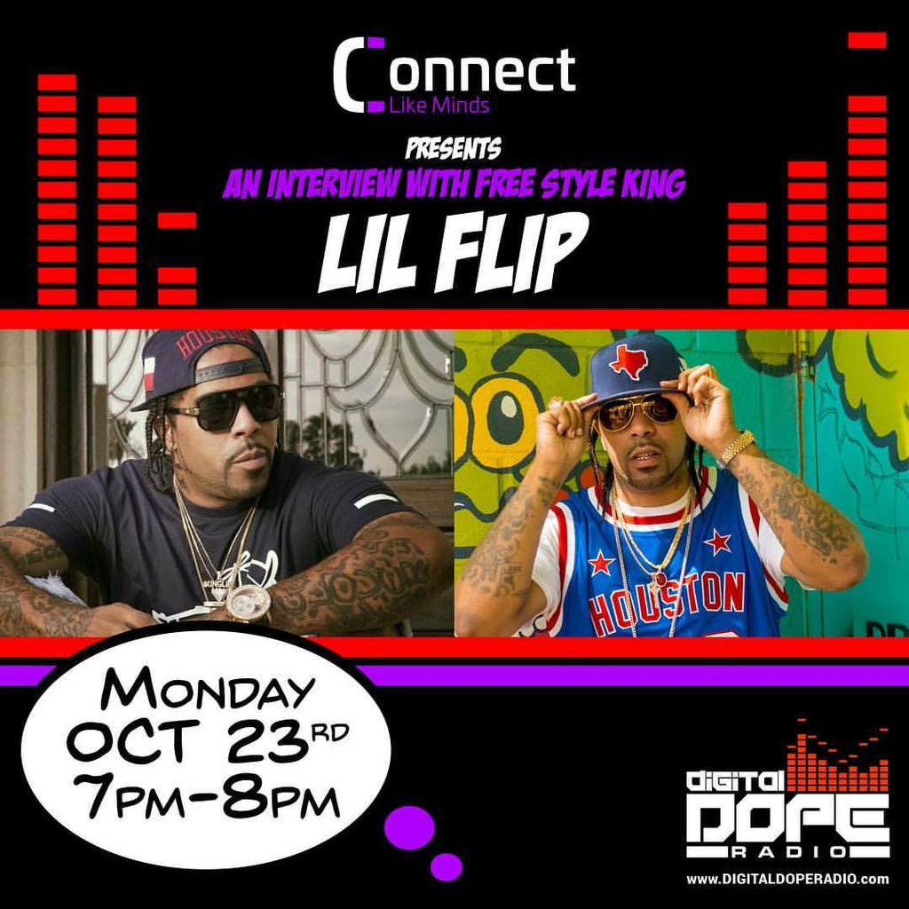An Interview with The Freestyle King Lil' Flip on Digital Dope Radio