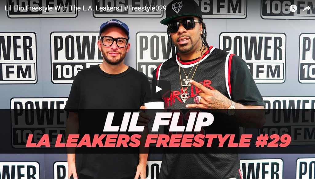 Lil Flip Freestyle With The L.A. Leakers