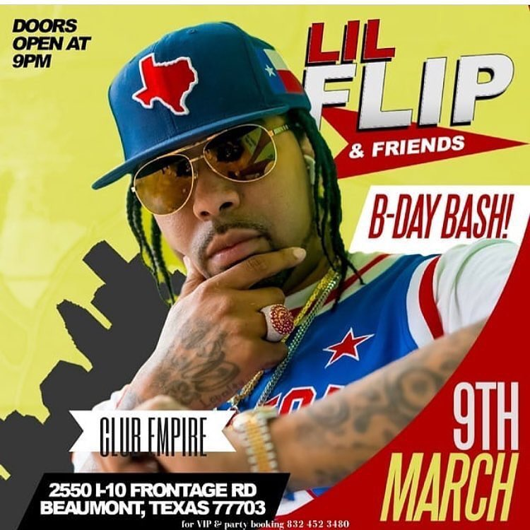 LIL' FLIP B-DAY BASH (BEAUMONT, TEXAS)