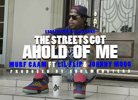 "Murf Caam featuring Johnny Moog & Lil Flip ""The Streets Got Ahold Of Me"""