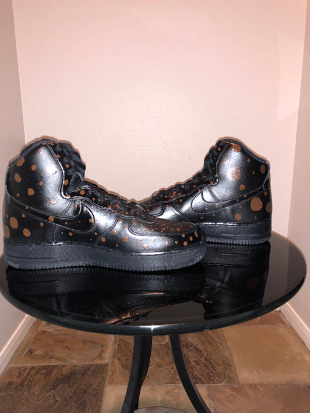 "HAND PAINTED ""POLKA DOT"" SHOES BY LIL' FLIP"