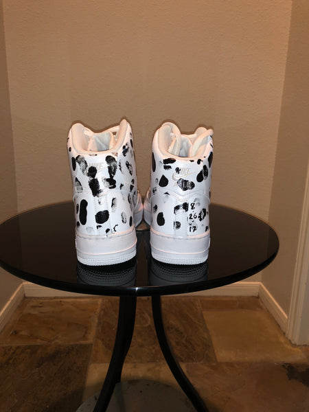 "HAND PAINTED ""FLIP PRINTS"" SHOES BY LIL' FLIP"