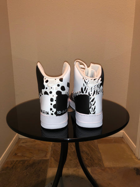 "HAND PAINTED ""FUCK OFF"" SHOES BY LIL' FLIP"