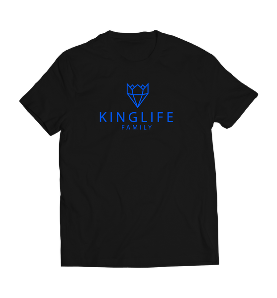 BLACK/BLUE KINGLIFE SHIRTS