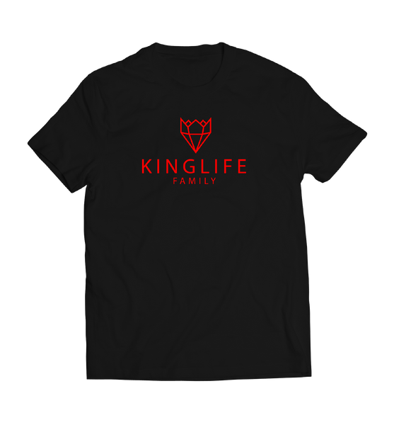 BLACK/RED KINGLIFE SHIRTS