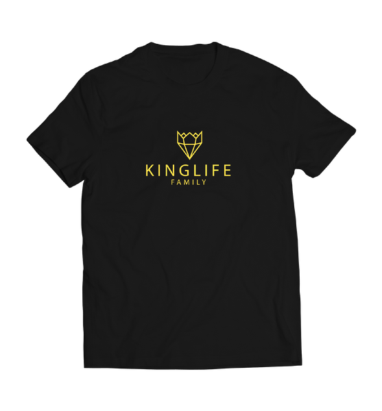 BLACK/GOLD KINGLIFE SHIRTS