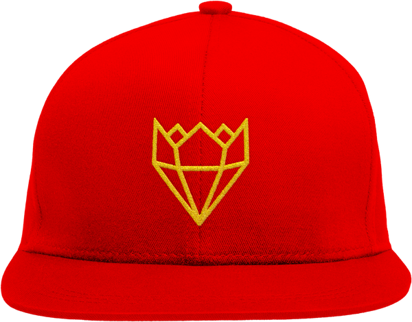RED KINGLIFE SNAPBACK