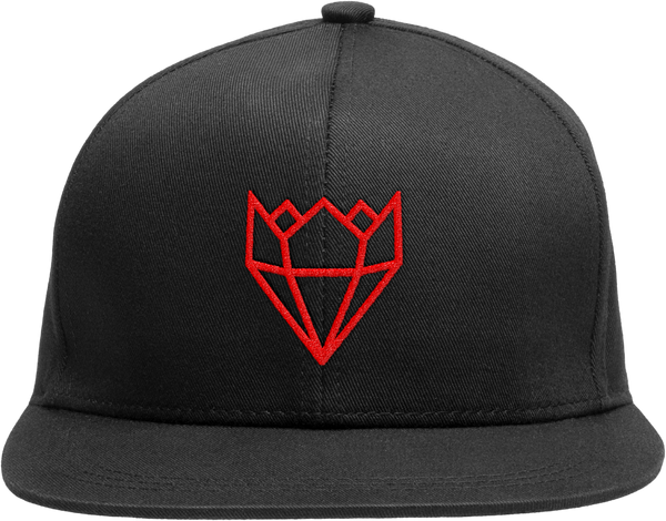 BLACK/RED KINGLIFE SNAPBACK