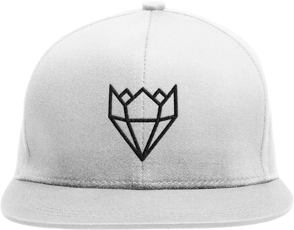 WHITE/BLACK KINGLIFE SNAPBACK