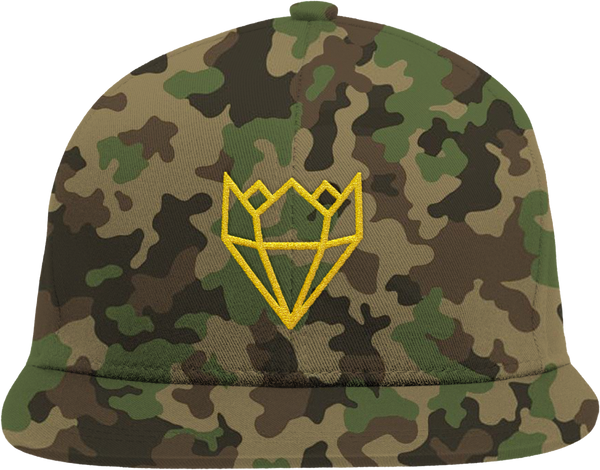 CAMO/GOLD KINGLIFE SNAPBACK