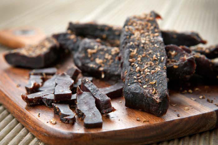 2 LB SPECIAL SPICY BEEF BILTONG STICKS OR CHUNKS - NANDO'S PERI PERI