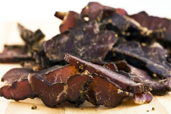 2 LB SPECIAL - BEEF BILTONG STICKS, SLICES, CHUNKS & FREE SHIPPING