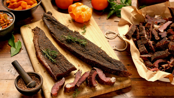 2 LB - LOW SALT BILTONG  STICKS, SLICES & CHUNKS