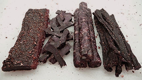 COMBINATION 1 LB REGULAR BILTONG (MEDIUM STICKS) & 1LB DROEWORS + FREE SHIPPING