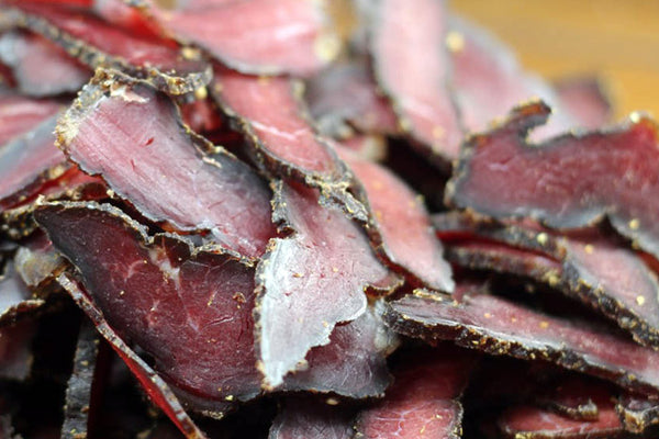 1 LB - LOW SALT BILTONG STICKS, SLICES & CHUNKS