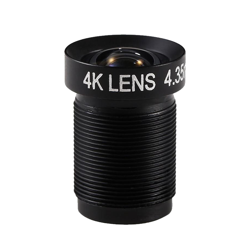 4K LENS 4.35mm f/2.8 72d HFOV 10MP (Printed)