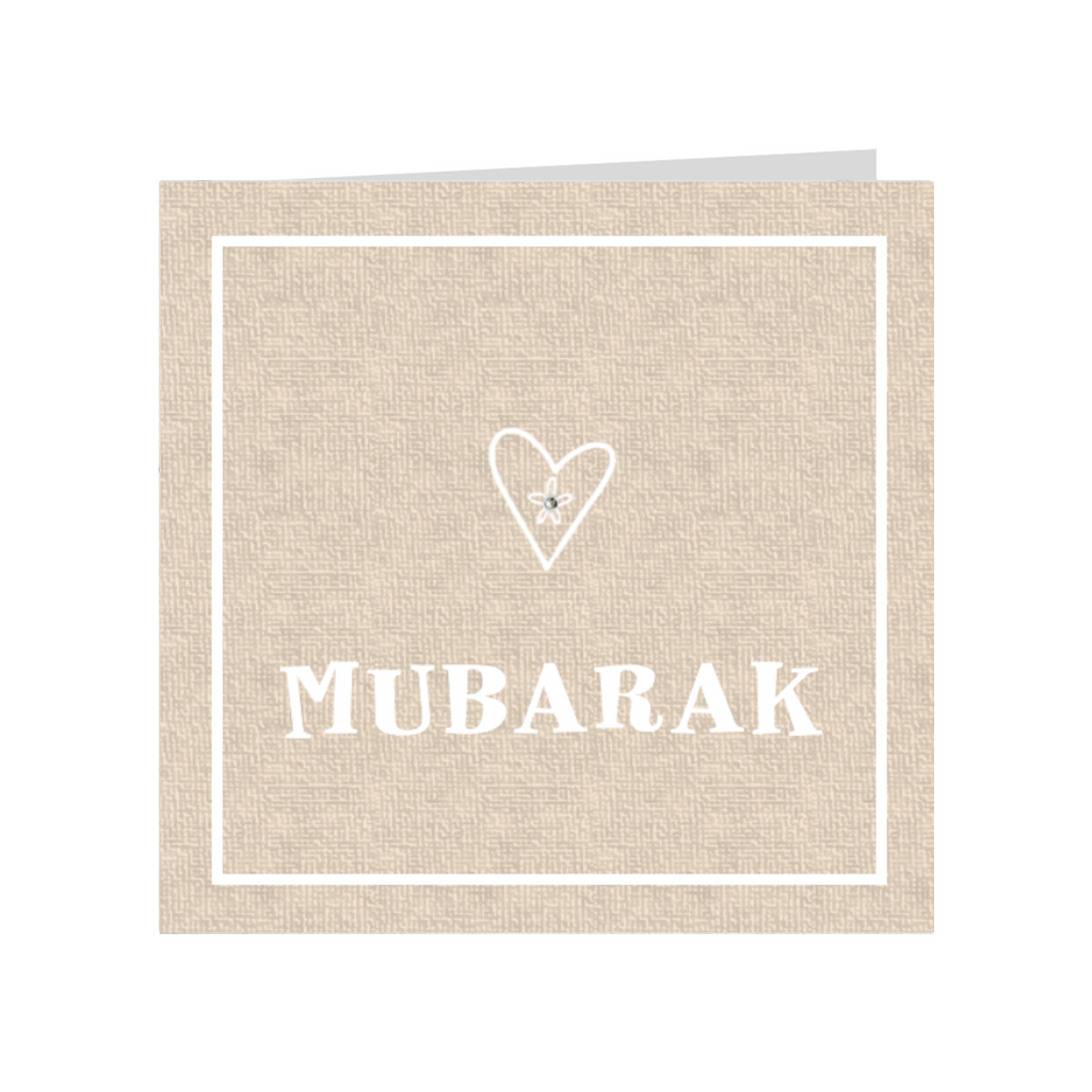 Elaara Wedding Mubarak Greeting Card