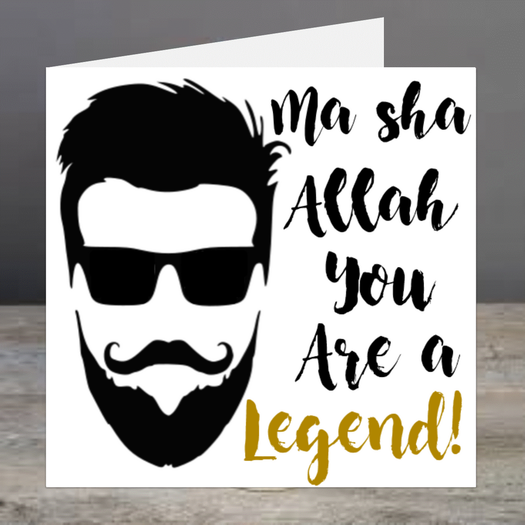 Elaara It's All About The Beard - Ma Sha Allah You Are A Legend!