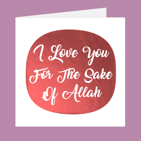 Shining Moments - I Love You For The Sake Of Allah