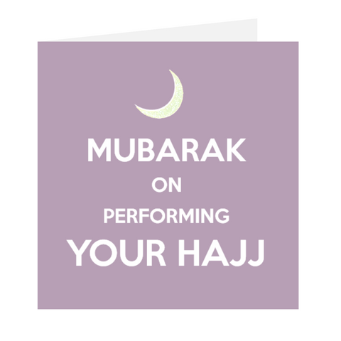 Keep Calm Mubarak On Performing Hajj