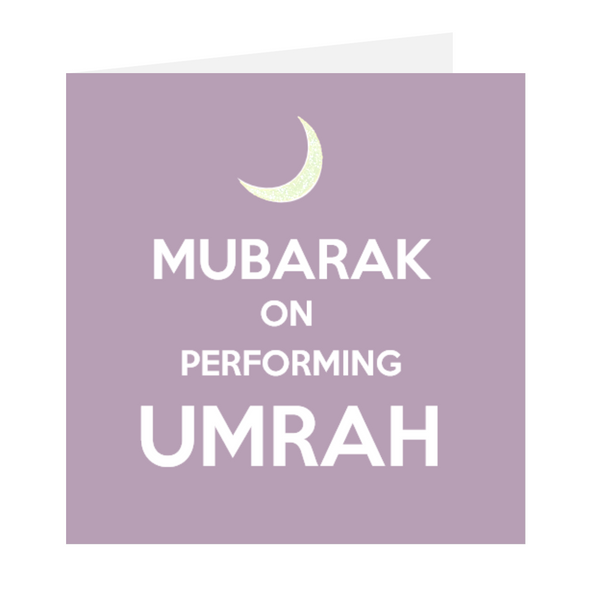 Keep Calm I'm Muslim- Mubarak On Performing Umrah