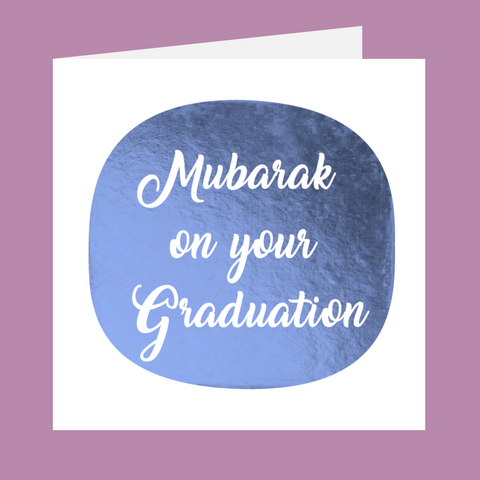 Shining Moments - Mubarak On Your Graduation