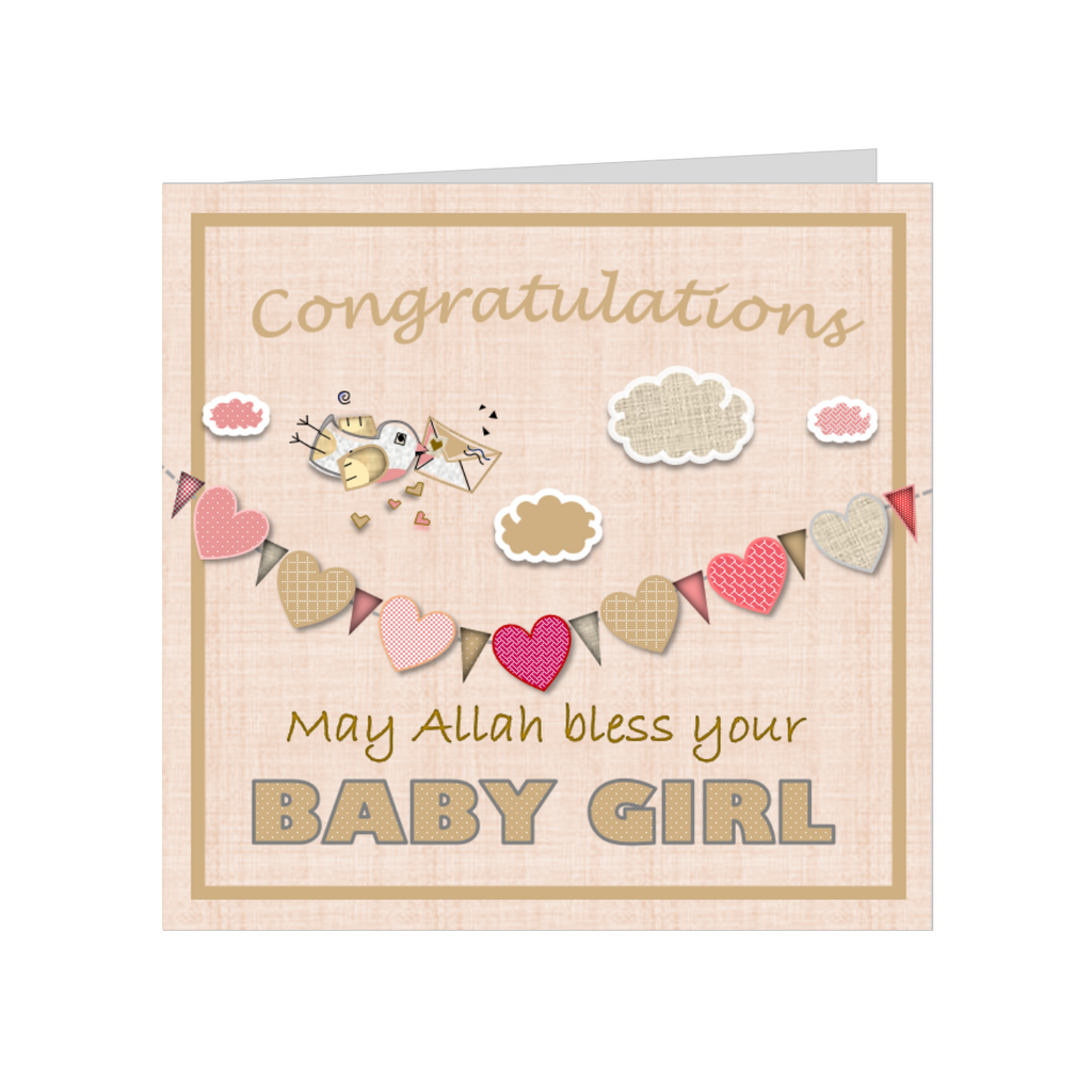 Elaara baby girl greeting card elaara official online store ba37002a elaara baby girl greeting card m4hsunfo