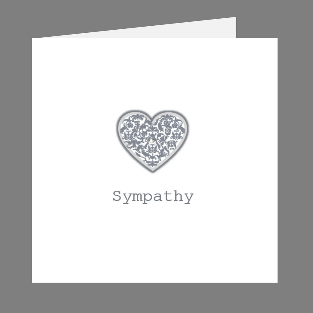 Precious Hearts Sympathy Greeting Card