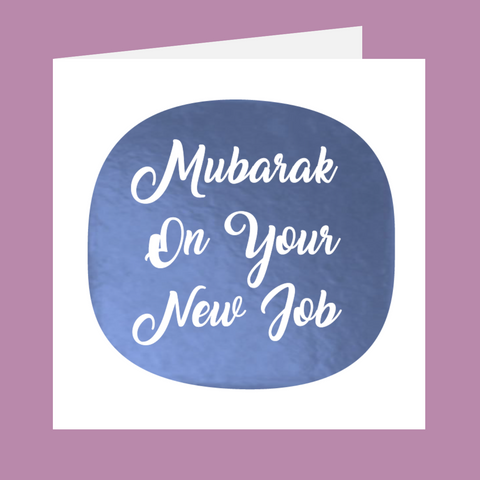 Shining Moments - Mubarak On Your New Job
