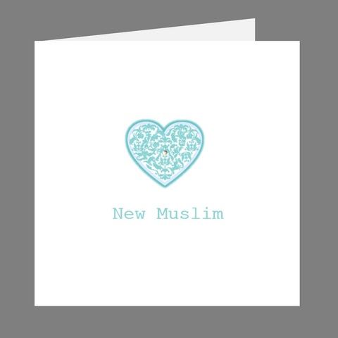 Precious Hearts New Muslim Greeting Card