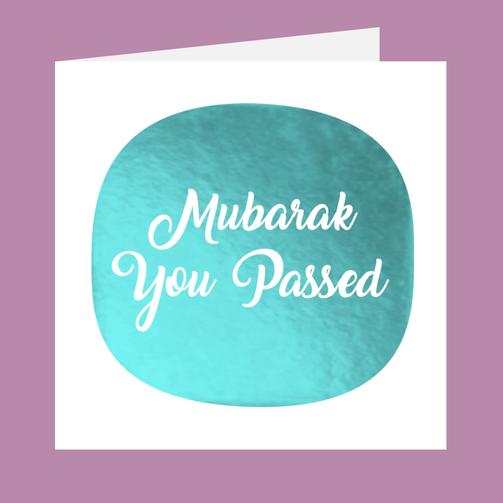 Shining Moments - Mubarak You Passed