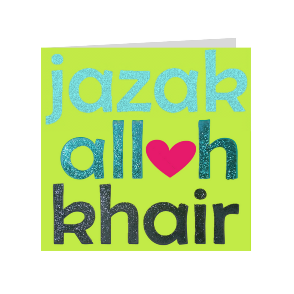 Elaara ColourBlock - Jazak Allah Khair