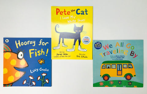 Book Set 08    *2-4 years old*