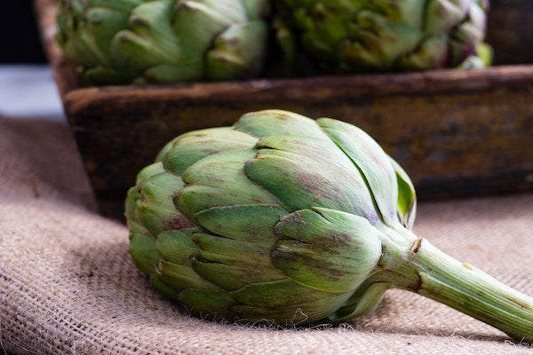 In season now - globe artichoke