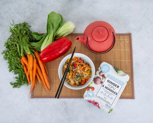 Vegan and vegetarian ready meals