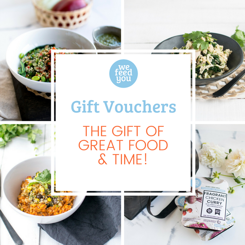 We Feed You Gift Vouchers: Choose amount below.