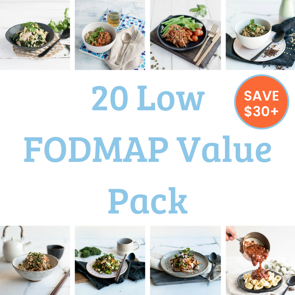 20 Meal Value Pack - Low FODMAP. Save over $50!