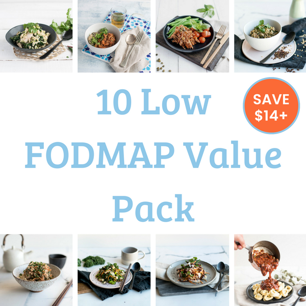 10 Meal Value Pack - Low FODMAP. Save over $14!