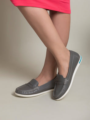 Cleo Loafers (Grey)